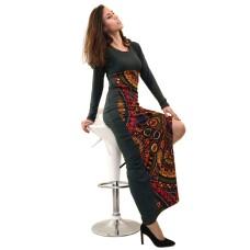 Vestido longo W6D59